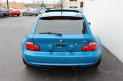 2001 BMW M Coupe in Laguna Seca Blue over Laguna Seca Blue & Black Nappa - Back
