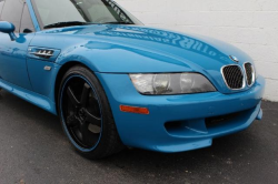 2001 BMW M Coupe in Laguna Seca Blue over Laguna Seca Blue & Black Nappa - Front Detail