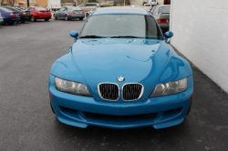 2001 BMW M Coupe in Laguna Seca Blue over Laguna Seca Blue & Black Nappa - Front
