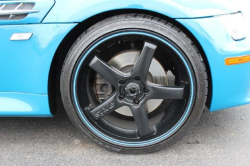 2001 BMW M Coupe in Laguna Seca Blue over Laguna Seca Blue & Black Nappa - Front Passenger Wheel