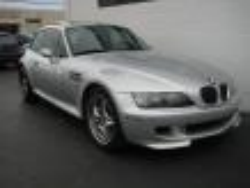 2001 BMW M Coupe in Titanium Silver Metallic over Black Nappa - Front 3/4