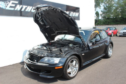 2002 BMW M Coupe in Black Sapphire Metallic over Black Nappa - Hood