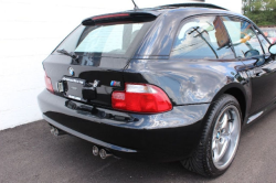 2002 BMW M Coupe in Black Sapphire Metallic over Black Nappa - Back