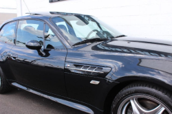 2002 BMW M Coupe in Black Sapphire Metallic over Black Nappa - Side Detail