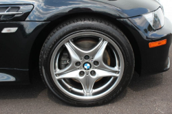 2002 BMW M Coupe in Black Sapphire Metallic over Black Nappa - Front Passenger Wheel