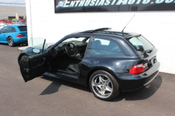 2002 BMW M Coupe in Black Sapphire Metallic over Black Nappa - Side