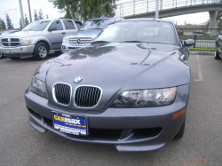 2002 BMW M Coupe in Steel Gray Metallic over Dark Gray & Black Nappa - Front