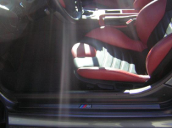 2002 BMW M Coupe in Steel Gray Metallic over Imola Red & Black Nappa - Seats