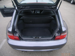 2002 BMW M Coupe in Steel Gray Metallic over Dark Gray & Black Nappa - Trunk