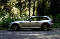 2002 BMW M Coupe in Titanium Silver Metallic over Black Nappa - Side