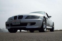 2002 BMW M Coupe in Titanium Silver Metallic over Black Nappa - Front