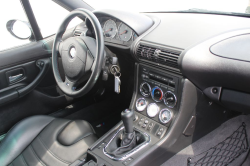 2002 BMW M Coupe in Black Sapphire Metallic over Black Nappa - Interior