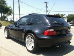 1999 BMW M Coupe in Cosmos Black Metallic over Black Nappa - Rear 3/4