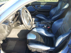 1999 BMW M Coupe in Estoril Blue Metallic over Estoril Blue & Black Nappa - Interior