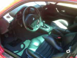 1999 BMW M Coupe in Imola Red 2 over Black Nappa - Interior