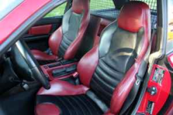 1999 BMW M Coupe in Imola Red 2 over Imola Red & Black Nappa - Interior