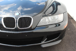 2002 BMW M Coupe in Black Sapphire Metallic over Black Nappa - Front Detail