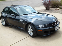1999 BMW M Coupe in Cosmos Black Metallic over Dark Gray & Black Nappa