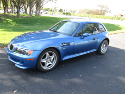 1999 BMW M Coupe in Estoril Blue Metallic over Black Nappa