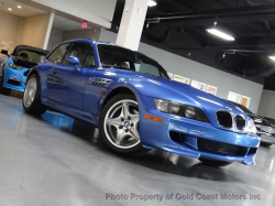 1999 BMW M Coupe in Estoril Blue Metallic over Dark Beige Oregon