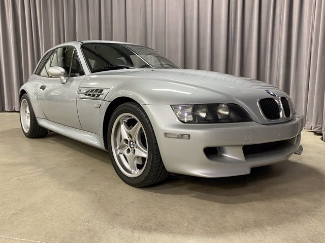1999 BMW M Coupe in Arctic Silver Metallic over Black Nappa