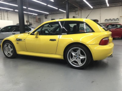 1999 BMW M Coupe in Dakar Yellow 2 over Black Nappa