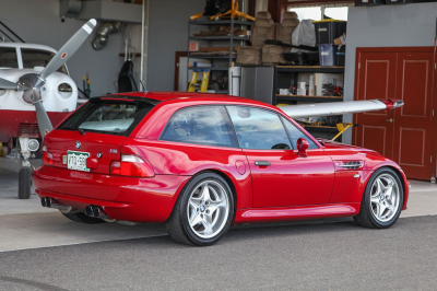 2000 BMW M Coupe in Imola Red 2 over Dark Gray & Black Nappa