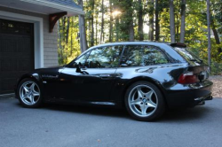 2000 BMW M Coupe in Cosmos Black Metallic over Dark Gray & Black Nappa