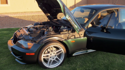 2000 BMW M Coupe in Oxford Green 2 Metallic over Dark Beige Oregon