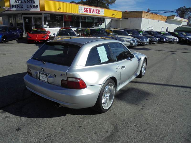 2000 Bmw M Coupe In Anium Silver Metallic Over Dark Gray Black Na