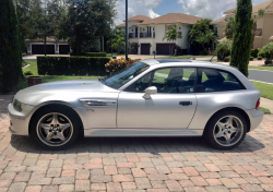 2000 BMW M Coupe in Titanium Silver Metallic over Black Nappa