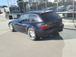 2000 BMW M Coupe in Cosmos Black Metallic over Imola Red & Black Nappa