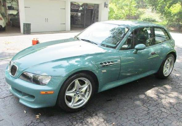 2000 BMW M Coupe in Evergreen over Evergreen & Black Nappa