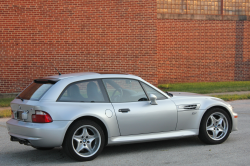 2000 BMW M Coupe in Titanium Silver Metallic over Dark Gray & Black Nappa