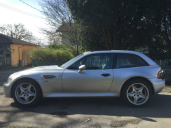 2001 BMW M Coupe in Titanium Silver Metallic over Dark Gray & Black Nappa