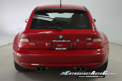 2001 BMW M Coupe in Imola Red 2 over Black Nappa