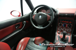 2001 BMW M Coupe in Imola Red 2 over Imola Red & Black Nappa