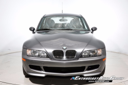 2001 BMW M Coupe in Steel Gray Metallic over Dark Gray & Black Nappa