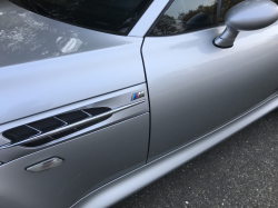 2001 BMW M Coupe in Titanium Silver Metallic over Black Nappa