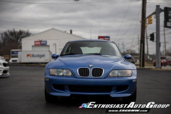 2002 BMW M Coupe in Estoril Blue Metallic over Dark Gray & Black Nappa