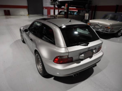 2002 BMW M Coupe in Titanium Silver Metallic over Dark Gray & Black Nappa