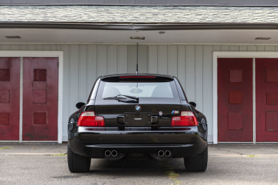 2002 BMW M Coupe in Black Sapphire Metallic over Dark Beige Oregon