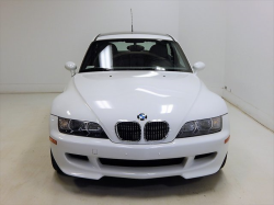 2002 BMW M Coupe in Alpine White 3 over Dark Gray & Black Nappa