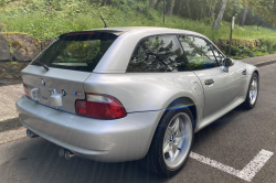 2002 BMW M Coupe in Titanium Silver Metallic over Black Nappa